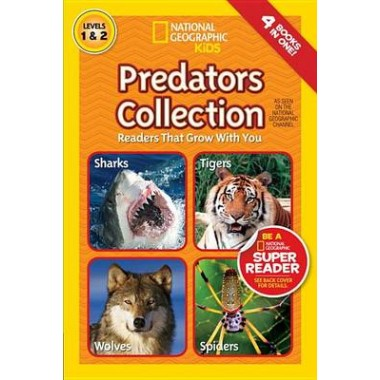 Nat Geo Readers Predators Collection Lvls 1 & 2