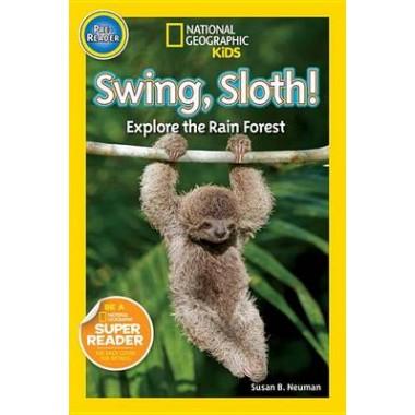 Nat Geo Readers Swing Sloth! Pre-reader