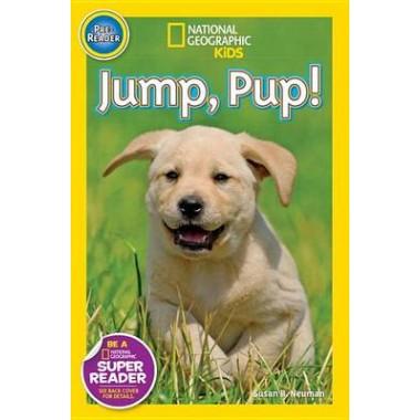 Nat Geo Readers Jump Pup! Pre-reader