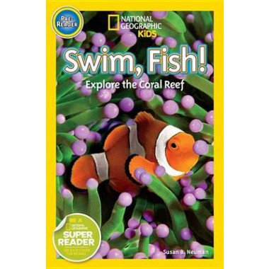 Nat Geo Readers Swim Fish! Pre-reader