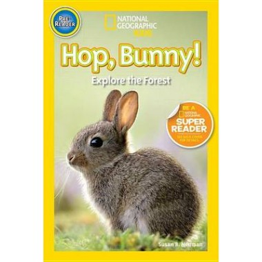 Nat Geo Readers Hop Bunny Pre-reader