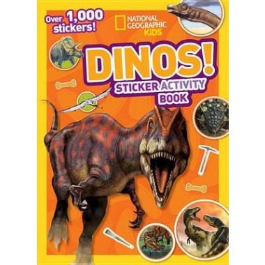 National Geographic Kids Dinos Sticker Activity Book