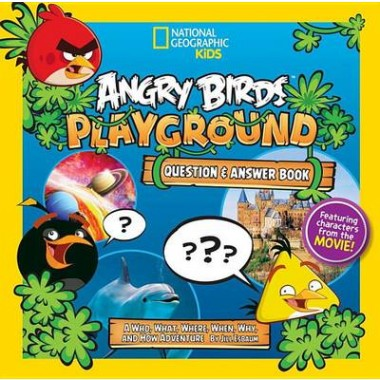 Angry Birds Playground: Question & Answer Book :A Who, What, Where, When, Why, and How Adventure