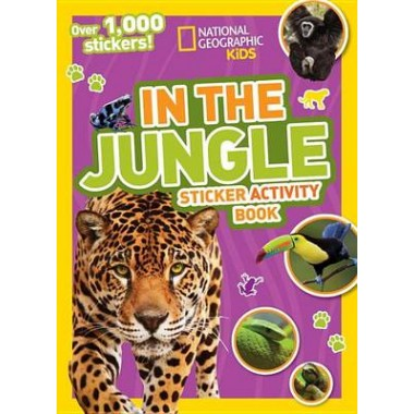 Nat Geo Kids In The Jungle Sticker Activity Book