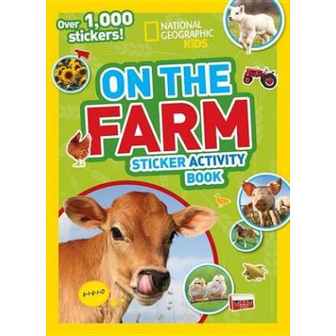 Nat Geo Kids On The Farm Sticker Activity Book
