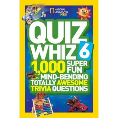 NATIONAL GEOGRAPHIC KIDS QUIZ WHIZ 6