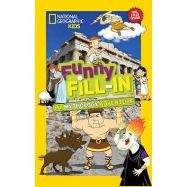 Nat Geo Kids Funny Fill-In My Greek Mythology Adventure