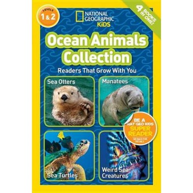 Nat Geo Readers Ocean Animals Collection Lvls 1 & 2