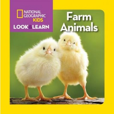 Nat Geo Kids Look And Learn Farm Animals