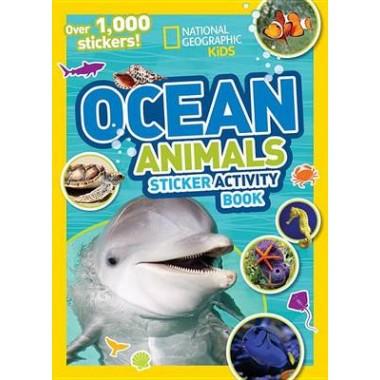 Ocean Animals Sticker Activity Book :Over 1,000 Stickers!