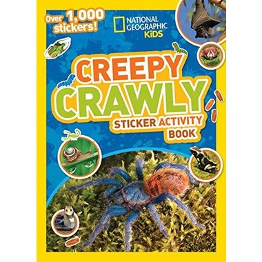 Creepy Crawly Sticker Activity Book :Over 1,000 Stickers!