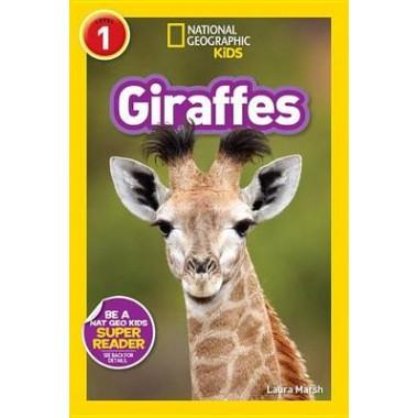 Nat Geo Readers Giraffes Lvl 1