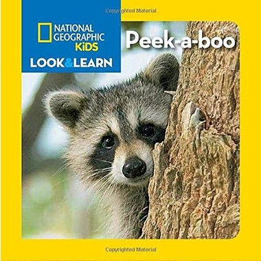 National Geographic Kids Look And Learn Peek-A-Boo