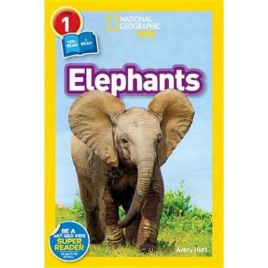 National Geographic Kids Readers: Elephants