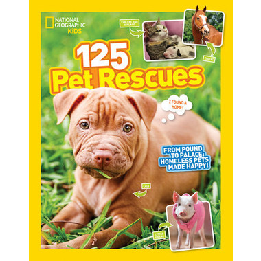 125 Pet Rescues :From Pound to Palace: Homeless Pets Made Happy