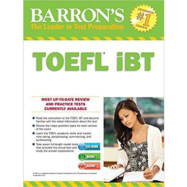 Barron's TOEFL iBT :With MP3 Audio CD