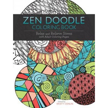 Zen Doodle Coloring Book :Relax and Relieve Stress with Adult Coloring Pages
