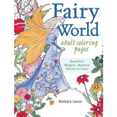 FAIRY WORLD COLORING PAGES: BEAUTIFUL; M