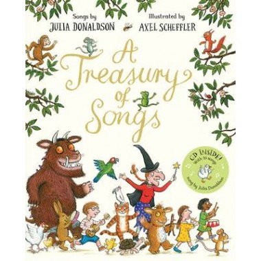 A Treasury of Songs :Book and CD Pack