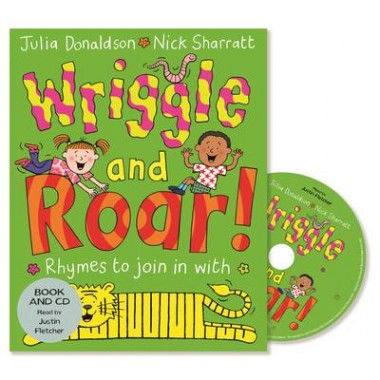 Wriggle and Roar! :Book and CD Pack