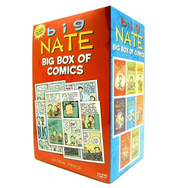 Big Nate Box Set :8 Book Boxed Set