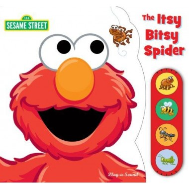 Elmo Itsy Bitsy Spider :Tiny Lift and Listen