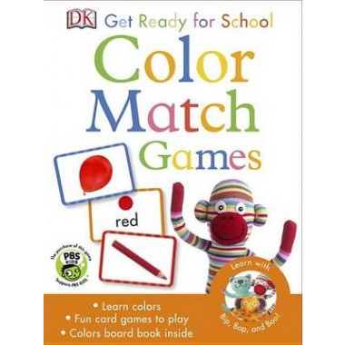 Get Ready for School Games: Color Match