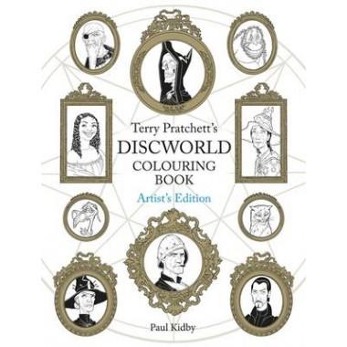 Terry Pratchett's Discworld Colouring Book: Artist's Edition