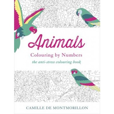 Animals :Colouring by Numbers