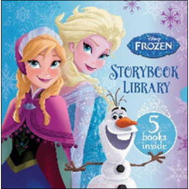 DISNEY FROZEN STORYBOOK LIBRARY (5 BKS)