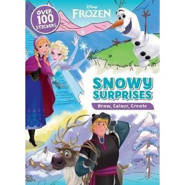 DISNEY FROZEN SNOWY SURPRISES DOODLE BOO