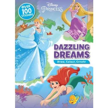 DISNEY PRINCESS DAZZLING DREAMS DOODLE B
