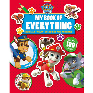 NIC PAW PATROL MY BOOK OF EVERYTHING