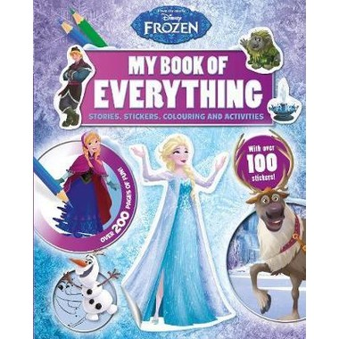 Disney Frozen My Book of Everything :Stories, Stickers, Colouring and Activities