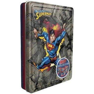 Superman Happy Tin