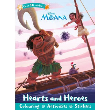 DISNEY MOANA HEARTS & HEROES (STICKER SC