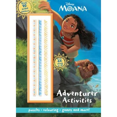 DISNEY MOANA ADVENTURER ACTIVITIES (COVE