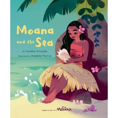 DISNEY MOANA MOANA AND THE OCEAN