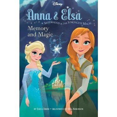 Disney Frozen Anna & Elsa Memory and Magic :Sisterhood Is the Strongest Magic