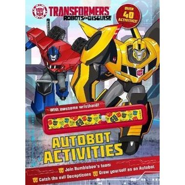 TRANSFORMERS ROBOTS IN DISGUISE AUTOBOT