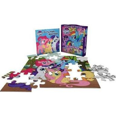 My Little Pony 2-in-1 Puzzle Pack :Activity Book and 2-in-1 Jigsaw Puzzle