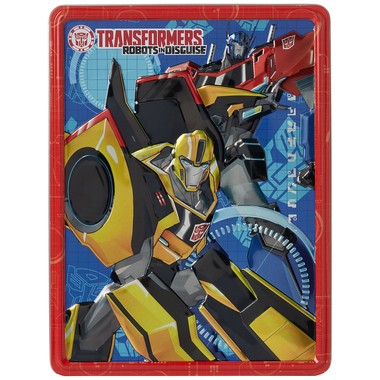 Transformers Robots in Disguise Happy Tin
