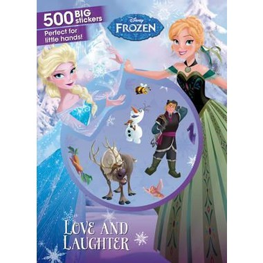 Disney Frozen Love and Laughter :500 Big Stickers