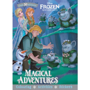 Disney Frozen Northern Lights Magical Adventures :Over 50 Stickers!