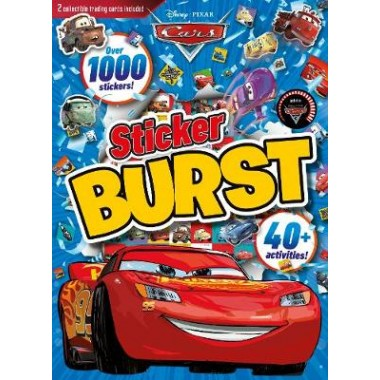 Disney Pixar Cars Sticker Burst