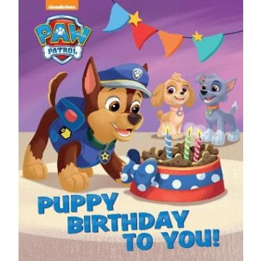 Nickelodeon PAW Patrol Puppy Birthday To You