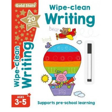 Gold Stars Wipe-Clean Writing Ages 3-5