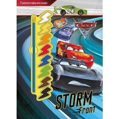 Disney Pixar Cars 3 Storm Front :2 Collectible Trading Cards Included