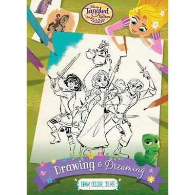 DISNEY TANGLED THE SERIES DRAWING AND DR