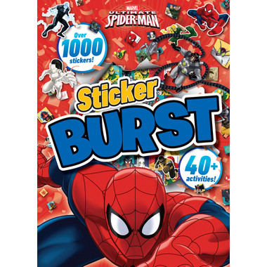 Marvel Ultimate Spider-Man Sticker Burst :Over 1000 Stickers!